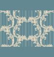 damask pattern handmade vector image