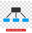 Hierarchy Eps Icon vector image vector image