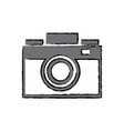 photo camera flash lens image vector image vector image