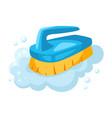 soap foam brush vector image