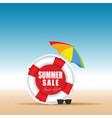 summer sale in live saver color design