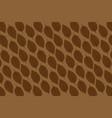 tobacco leaf on brown background vector image