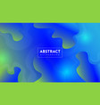 abstract colorful background liquid color gradient vector image