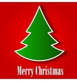 Christmas Tree Background EPS10 vector image vector image