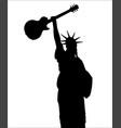 liberty rocks vector image vector image