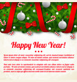 light colorful greeting poster vector image