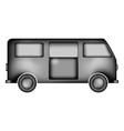 minibus icon sign vector image vector image