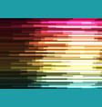 multicolor overlap pixel speed abstract background vector image vector image