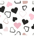 Seamless universal pattern Hearts vector image vector image