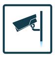 Security camera icon vector image vector image