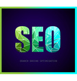 SEO Search engine optimization concept with vector image