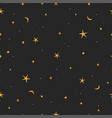 stars doodle art vector image vector image