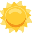 Sun Isolated vector image vector image