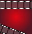 filmstrip frame background vector image