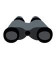 binocular icon isolated on white background vector image