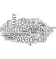 alcoholism is serious but there is help text word vector image vector image