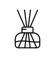 aroma home diffuser linear icon transparent vector image vector image