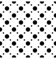 Polka dot geometric seamless pattern 3510 vector image vector image