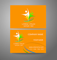 team company logo identity template vector image vector image