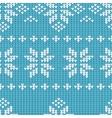 Knitting Pattern vector image