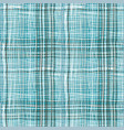 bold plaid pattern with thin brushstrokes vector image vector image
