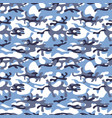 colorful seamless pattern winter camouflage khaki vector image