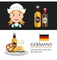 German culture design vector image vector image
