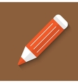 pencil web icon vector image