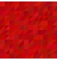 Red triangle pattern background vector image vector image
