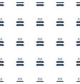 sausage icon pattern seamless white background vector image vector image