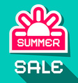 summer sale city vector image vector image