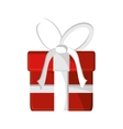 Isolated gift of Christmas season design vector image vector image