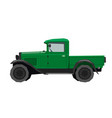 Nursery retro truck drawing cartoon pickup car