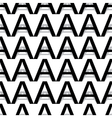 pattern letter a vector image vector image