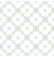 retro vintage seamless pattern rounded mesh vector image vector image