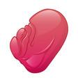 sick spleen icon cartoon style vector image