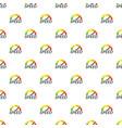 speedometer design pattern seamless vector image vector image