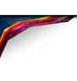 stripe shape background vector image vector image