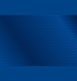 blue metal perforated background vector image