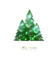elegant christmas background with gold vector image vector image