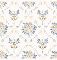 french shabchic damask texture vector image vector image