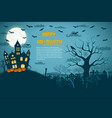 halloween fantastic picture vector image vector image