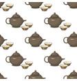 Kettle teapot drink hot breakfast kitchen utensil vector image