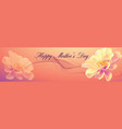 mothers day banner vector image