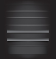 Shadows and Dividers vector image