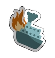 ship cruise insurance isolated icon vector image vector image