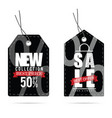 tag with big sale on it color vector image vector image