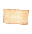 Watercolor old paper vector image vector image