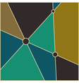 Mid century abstract background vector image