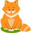 Cute Kitten Isolated vector image